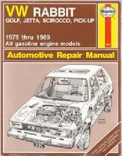repair manuals rh cabby info com VW Rabbit VW Rabbit