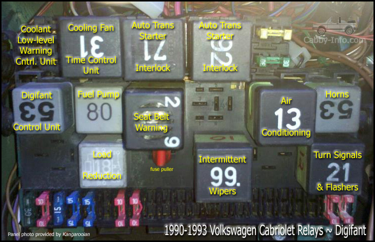 Vwvortex Com 1991 Cabriolet Cooling Fan Starts Late And