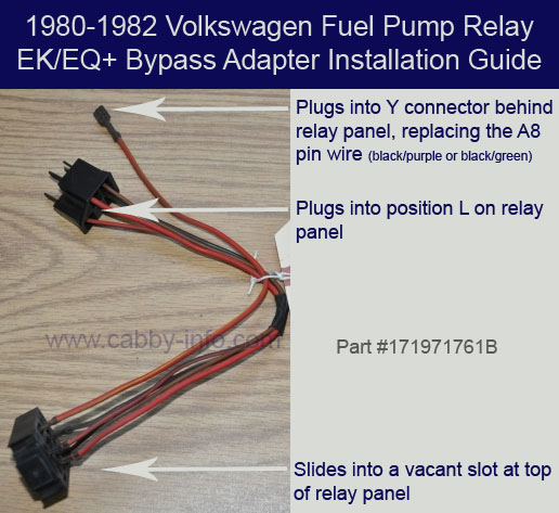 FPRbypass electrical system 1982 vw rabbit fuse box at couponss.co